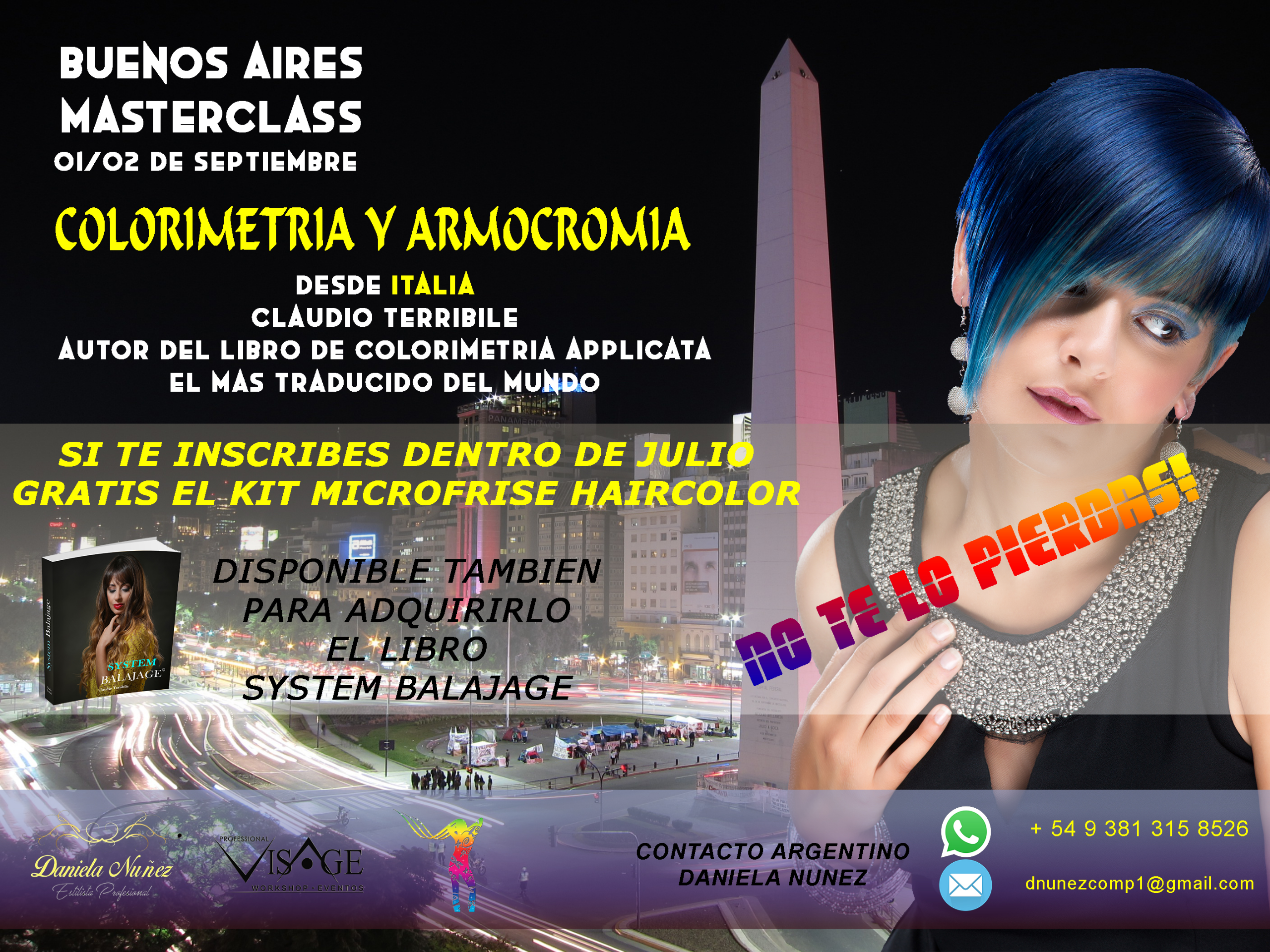 BUENOS AIRES MASTERCLASS CLAUDIO TERRIBILE 01/02 SEPTEMBER 2019